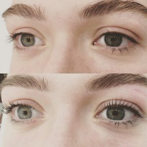 Lash Lift and Tint treatment